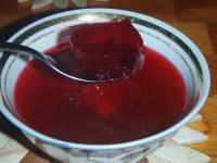 Компот з вишні і червоної смородини