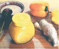 Компот яблучний з оманом