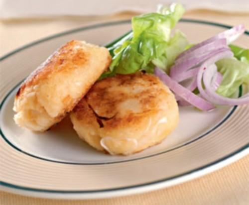 Котлети картопляно-яблучні