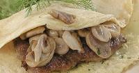 Котлети з телятиною і грибами