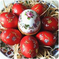 Фарбуємо яйця до Великодня. Фарба народними методами