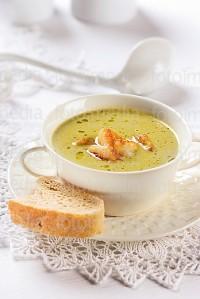 Крем-суп з креветками