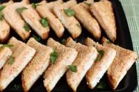 Креветочні бутерброди