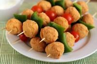Крокети з курки з овочами