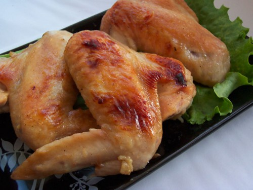 Крильця курячі в пивному клярі з петрушкою по-японськи