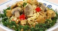 Курка з рисом в соусі карі