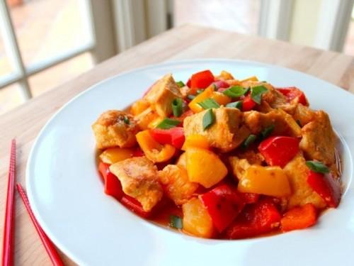 Курка в кисло-солодкому соусі, рецепти приготування