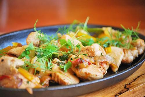 Курячі грудки з овочами - 5 смачних рецептів