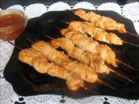 Курячі шашлички в мармеладном маринаді