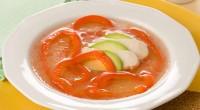 Курячий суп з перцем і авокадо