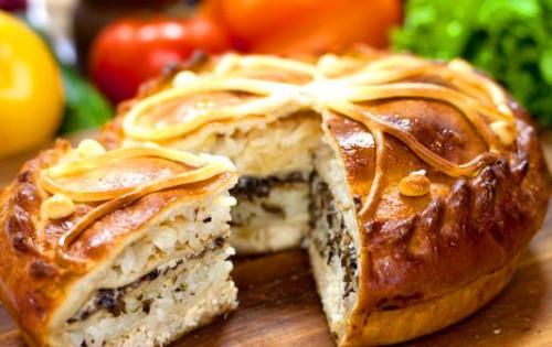 Курник - традиційний російський пиріг