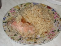 Курочка з рисом