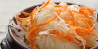 Квашена капуста швидка з морквою