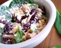 Легкий салат з квасолею та куркою