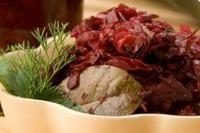 Легкий буряково-огірковий салат