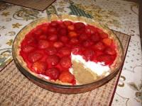 Літній тортик з сиром