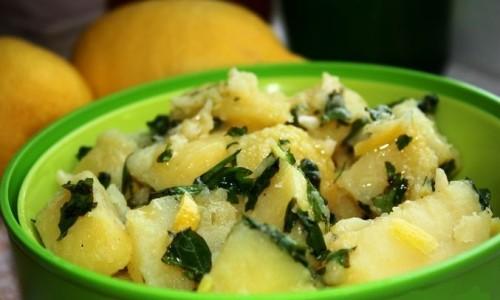 Лимонний картопля
