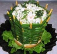 Цибулеві кошички для салатів