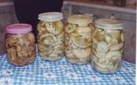 Мариновані по-селянськи гриби