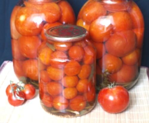 Мариновані помідори «Десертні»