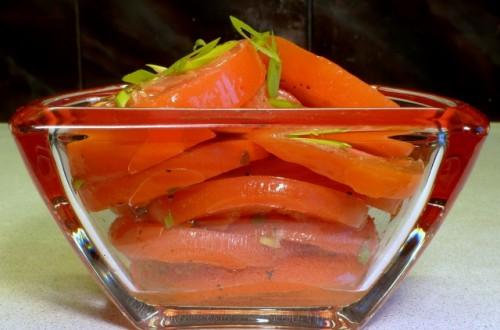 Мариновані помідори в желатинової заливці