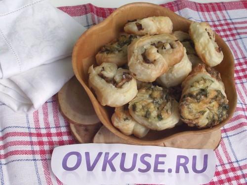 Міні булочки, 2 види начинки - рецепт приготування з фото