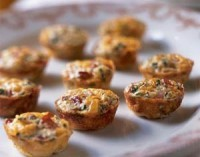 Міні-омлет овочевий з сиром і шинкою