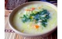 Молочно-овочевий суп з макаронами