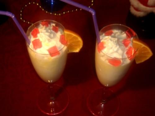 Молочний коктейль з медом