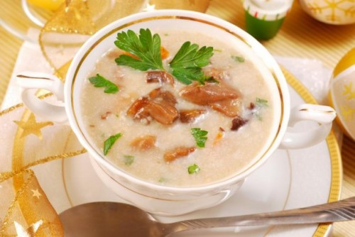 Молочний суп, рецепти молочних супів