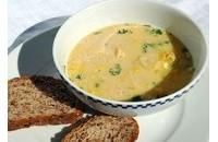 Молочний суп з яєчнею