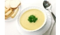Молочний суп з тертим тестом