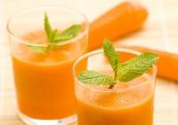 Морквяно-молочний кисіль