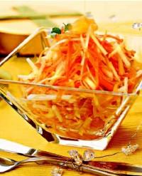 Морквяний салат «По-східному»