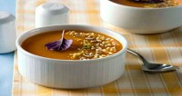 Морквяний суп-пюре Капучіно