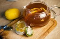 Морс з лимоном і гвоздикою
