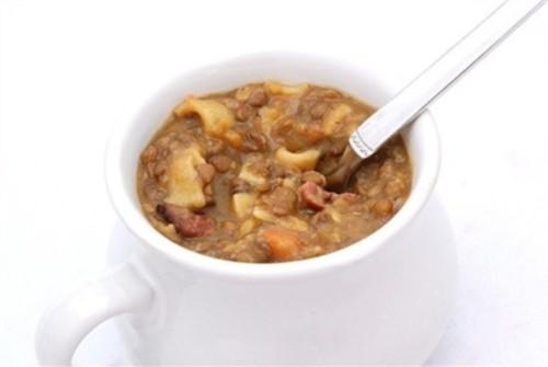 Німецький суп з бараниною «Айнтопф»