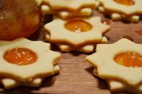 Ніжне печиво з апельсиновим джемом