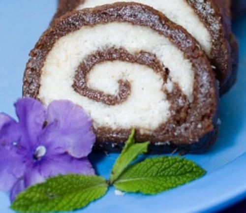 Новорічний десерт з печивом «Баунті»