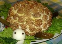 Новорічний салат «Черепаха»