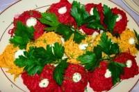 Новорічний салат «Кольоровий»
