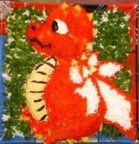 Новорічний салат «Дракон»