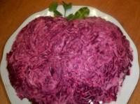 Новорічний салат «Яблучко»