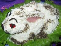 Новорічний салат «Кролик»