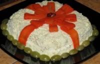 Новорічний салат «Подарунок»