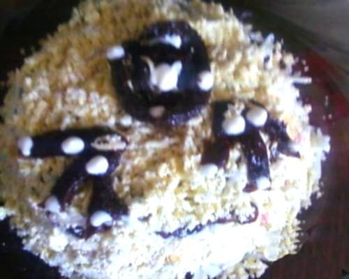 Новорічний салат з чорносливом «Чорна перлина»