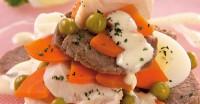 Новорічний салат з куркою і яловичиною