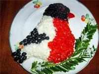 Новорічний салат «Снігур»