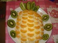 Новорічний салат «Тропічний»