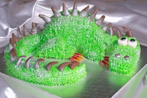 Новорічний торт «Дракон»